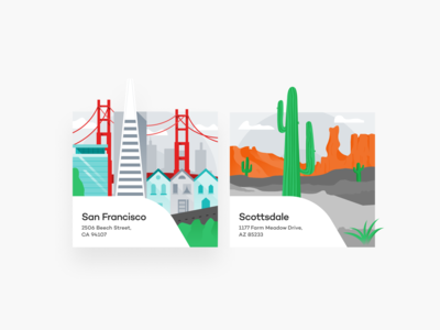 Location Illustrations