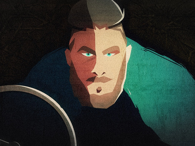 Ragnar Lodbrok Vikings by Maren Steinlen on Dribbble