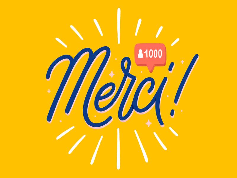 1000 followers