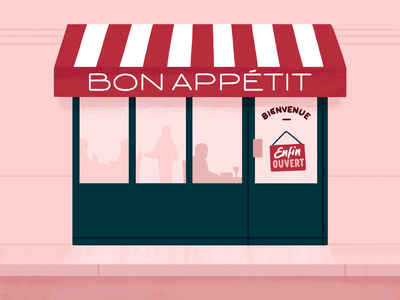 Advent Calendar - Illustration Day 3 window food restaurant illustration lettering typography