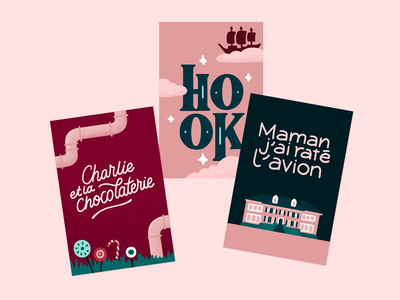 Advent Calendar - Illustration Day 15 illustration posters film charlie chocolate factory hook home alone lettering typography
