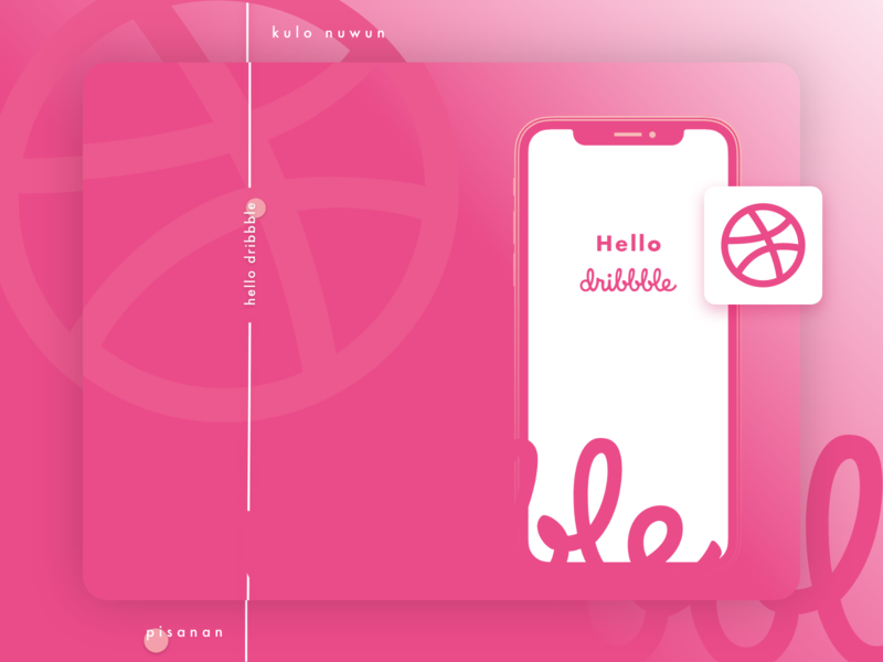 Hello Dribbble! Kula nuwun - ꦏꦸꦭꦤꦸꦮꦸꦤ꧀ design app ui first post firstshot first shot debutshot debut
