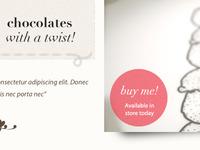 Chocolaterie Intro and slideshow
