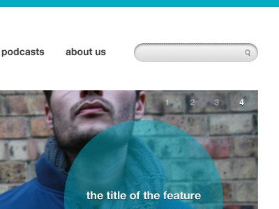 A bit of search & slider search slider minimal clean blog