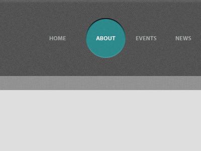 Cinema website navigation cinema dark turquoise navigation menu active wordpress