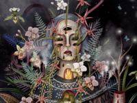 Orchid garden (fragment)