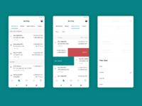 Dribbble android activiy