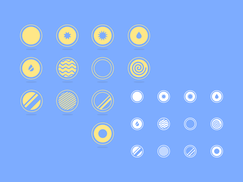 Effects Icons icons design ui