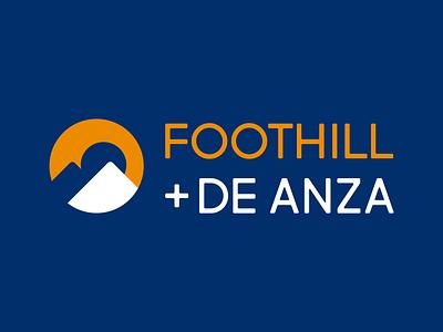 Foothill+De Anza International Logo logotype wordmark branding college logo design logo