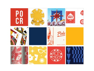 Mood board/color palette for new brand vegas texture navy chip poker beige yellow red mood board board mood branding brand