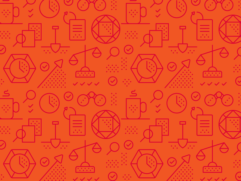 Acción Icon Pattern strategy iconset icons website pattern icon branding design