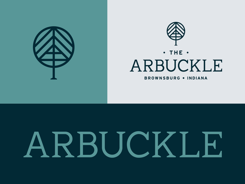 The Arbuckle Branding typography mark logo branding design