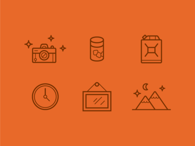 Charity:Water Direct Mail Icon Set