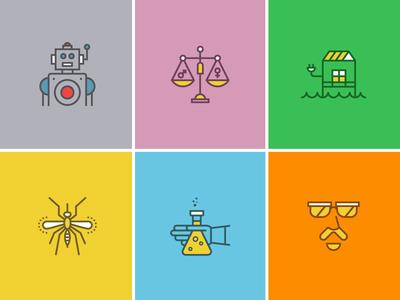 Popular Science Icon Set 02