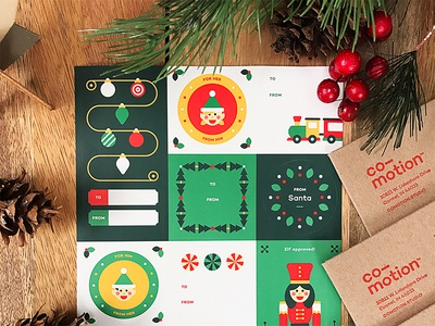 Co-motion Holiday Mailing