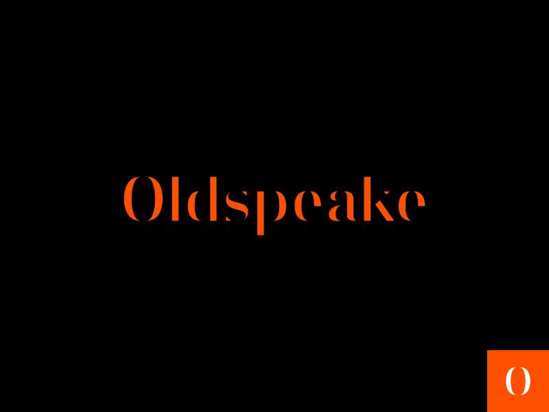 Oldspeake Logo ux ui development mark logo identity branding design