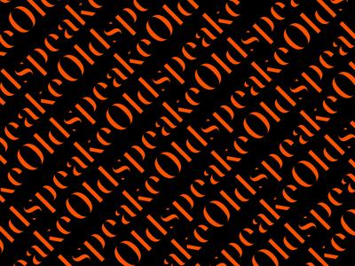 Oldspeake Brand Pattern