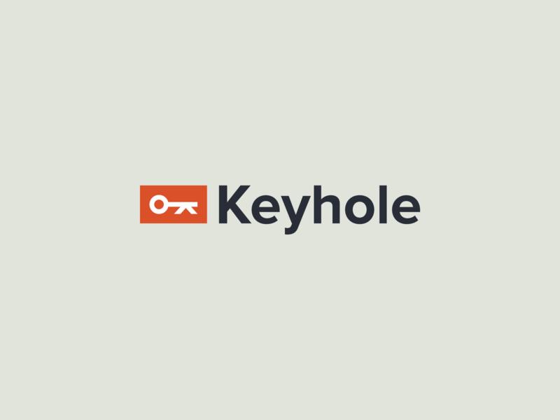 Keyhole Logo Pt. 2 strategy photography typography logo mark identity branding design