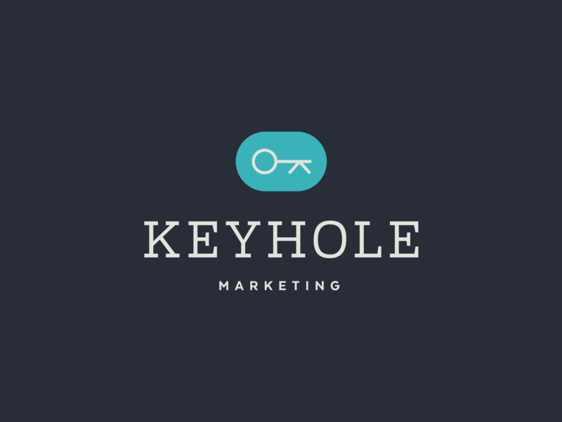 Keyhole Logo Pt. 3 photography strategy mark logo identity branding design