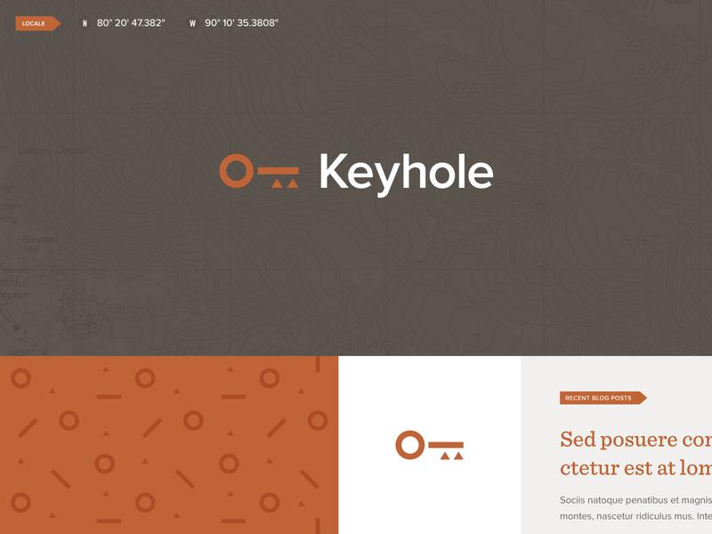 Keyhole Branding strategy key brand photography website branding logo mark identity design