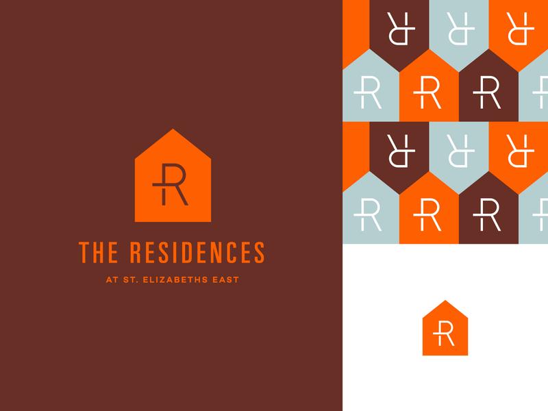 The Residences Logo | Brand Board mark logo identity branding design