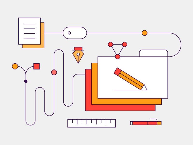 Product Illustration | Design website ui icon set identity icons illustration branding design