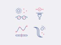 eSalon Highlight Icons