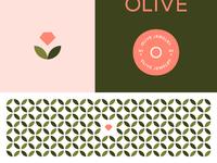 Olive dribbble brand