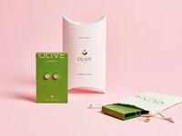 Olive dribbble packaging