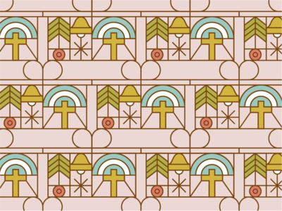 Holiday Sticker Pattern