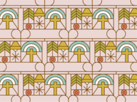 Holiday Sticker Pattern