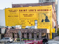 Saint Lou's Assembly - Chicago Mural