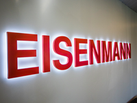 Eisenmann Custom LED EdgeLit Office Sign