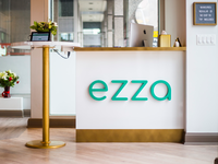 Ezza Nails - Custom Signage for Nail Salon StartUp