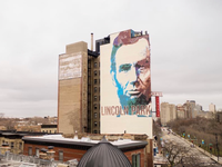 Abraham Lincoln Mural - by Right Way Signs of Chicago
