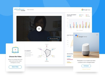 Interview Analytics Platform - UI/UX Design