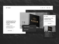 pół – pauza – Landing page