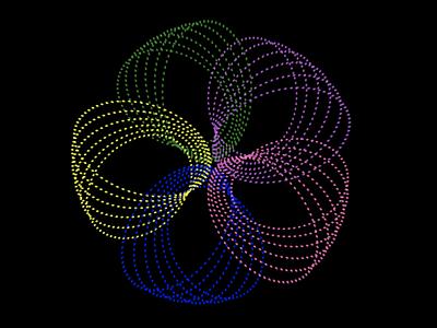 CSSpirograph codepen colors generative art patterns bezier curves spirograph css animation css