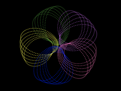 CSSpirograph codepen colors generative art patterns bezier curves spirograph css animation css