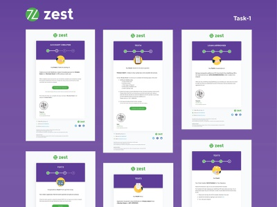 Internship @Zest - Task 1 illustration illustrator design ux typography ui