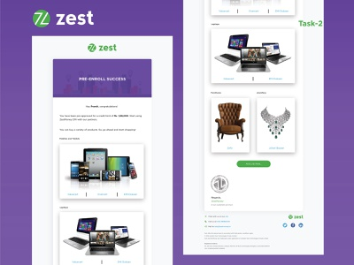 Internship @Zest - Task 2 graphic illustrator typography design ux illustration ui