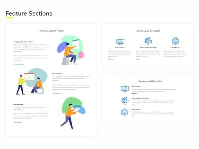 UI doubts and types section features page features humaaans illustrations graphics visual hierarchy user interaction web blue vector user center design user experience illustration graphic figma typography ux ui design