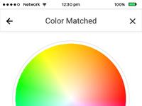 Color color matched