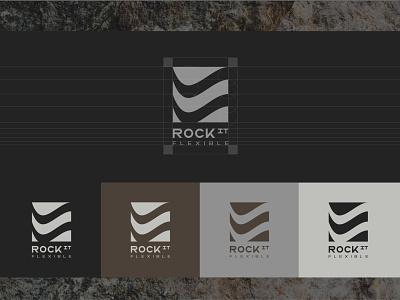 ROCKit typography logo book logotype logo design minimal sign rock branding illustration brand identity identity logo brand