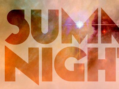 Summer Nights Text