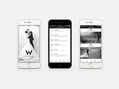 App for Wedding Photography