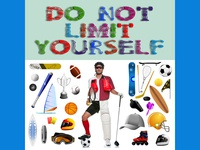 Do Not Limit Yourself - Graphic design