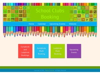 School Clubs Booking – Online Booking Design and Development