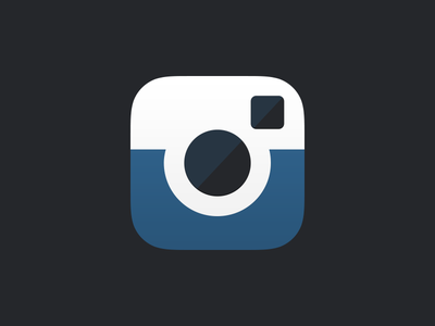 Instagram Icon unsolicited redesign instagram icon ios7 flat