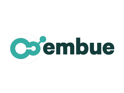 Embue Logotype embue logotype logo circles math calibre